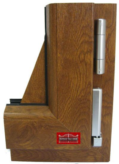 Infissi e serramenti in pvc infissi vaccher for Finestre legno pvc